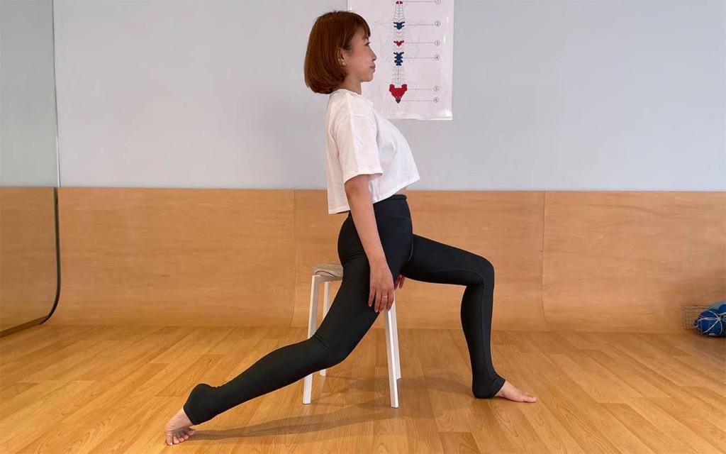 ユミコア式腸腰筋ストレッチ方法